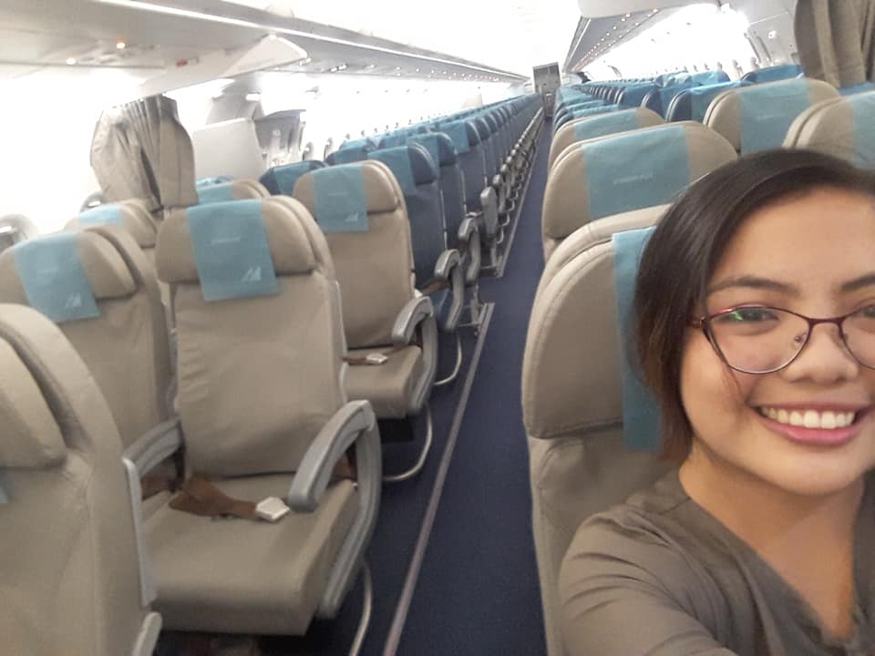 Woman finds self in 'special flight' to Manila on Christmas Eve