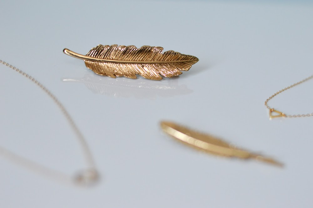 Gold Minimal Hair Clip
