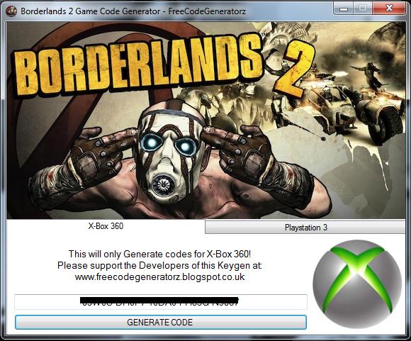 lascaux borderlands 2 code generator