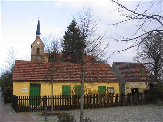 Das Büdnerhaus im Jahr 2006.