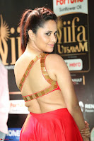 Anasuya in Red Single Shoulder Sleeveless Gown at IIFA Utsavam Awards 2017  Day 2  Exclusive 06.JPG
