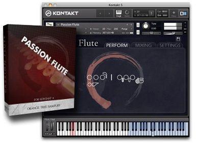 Passion Flute Flauta Moderna VST