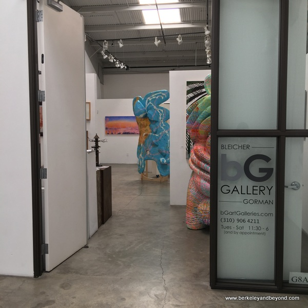 bG Gallery at Bergamot Station Arts Center in Santa Monica, California