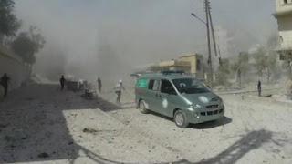Découvrez la routine des ambulanciers de Syrie.