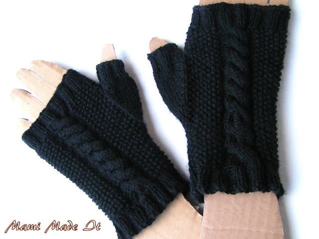 Black Gloves - Schwarze Handschuhe