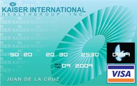 Kaiser VISA Card