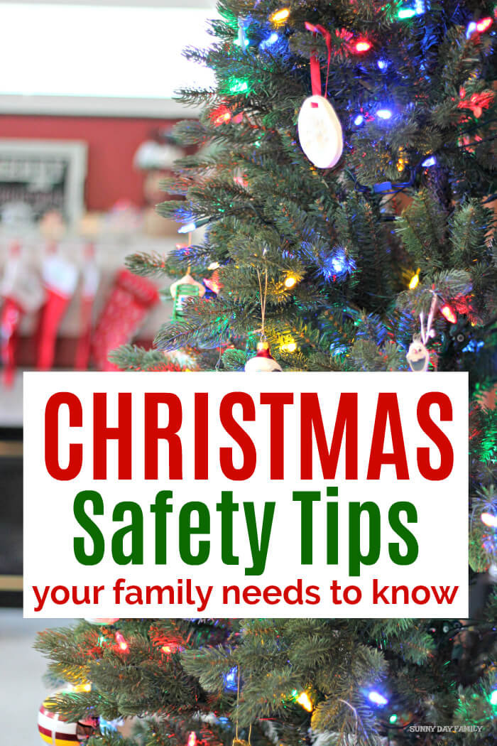 Keep your home and family safe this holiday with these Christmas safety tips! Help prevent holiday mishaps, accidents, and fires with these helpful tips. #ad #ERIEHolidaySafety #holidayhome #firesafety #holidaytips