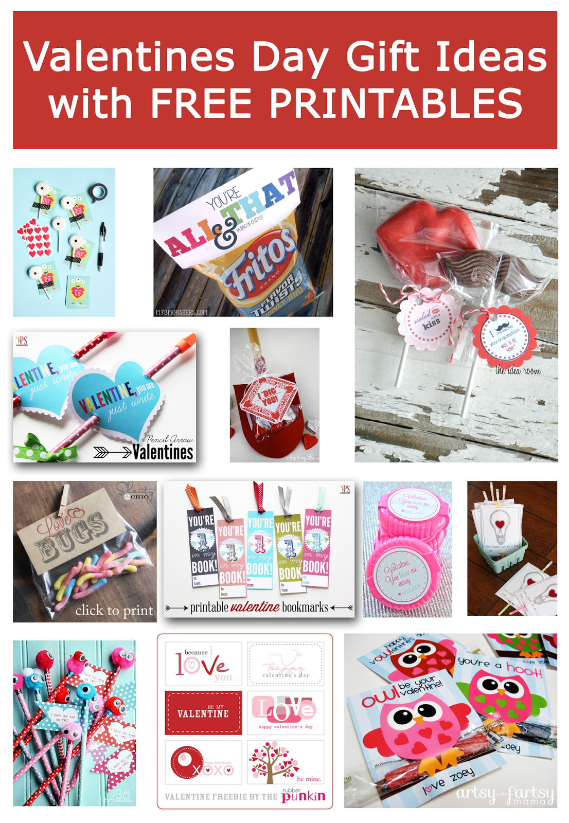 Delightful Order: Valentines Day Gift Ideas & Free Printables Free Printable Valentine's Day Decorations