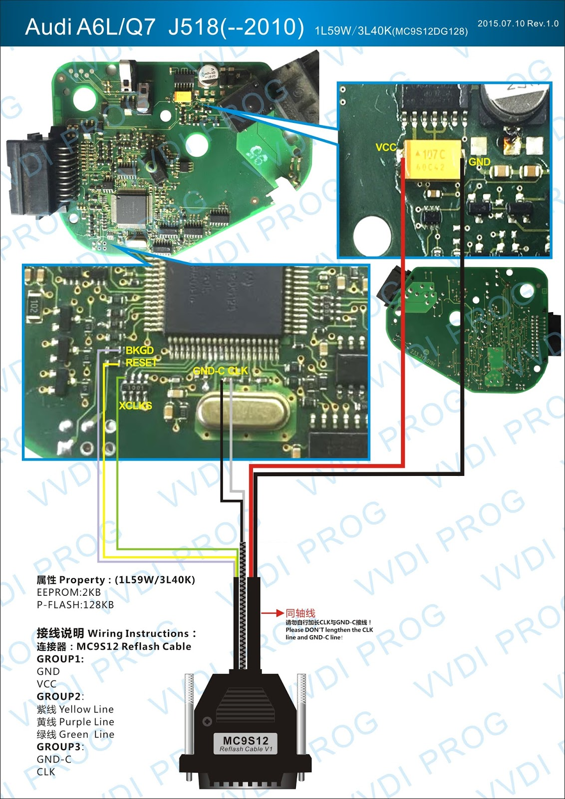 Car Ecu Wiring Diagram Electrical Diagrams Honda Pinout Vvdi Prog 4 1 2 Connection Obd2 Vehicle