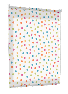 direct blinds polka dot