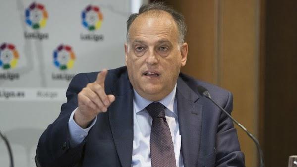 Sanidad frena los planes de LaLiga impuesto por Javier Tebas
