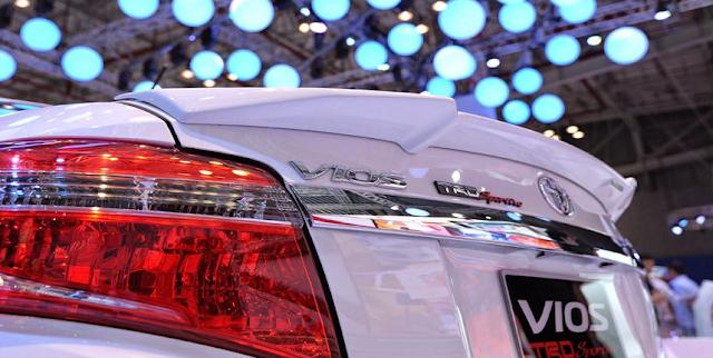 Lộ diện phiên bản Toyota Vios TRD cải tiến từ Vios G ảnh 6