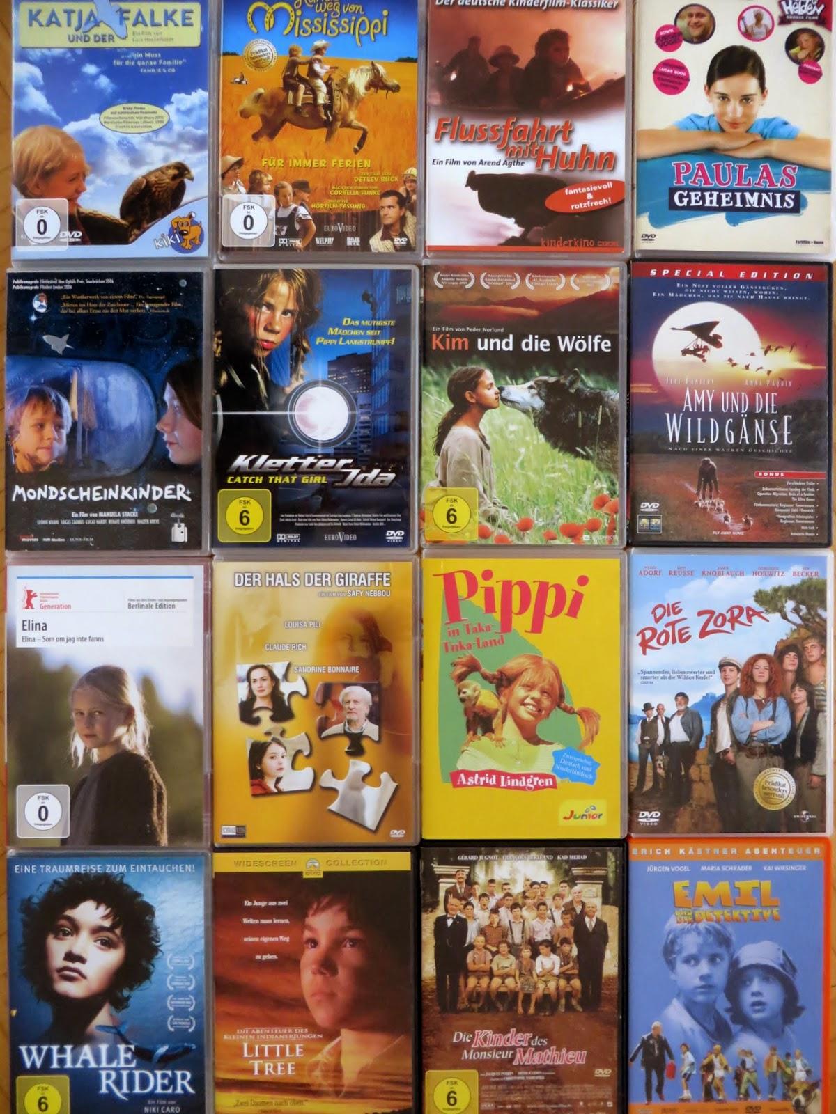 Sommer- Ferien- Filme für Kids