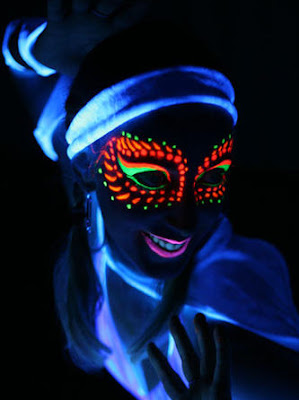 Face Painting Glow in the Dark Jakarta