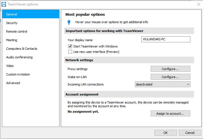 Cara mudah seting startup TeamViewer saat Windows logon
