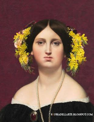 Madame Moitesser in festa - J.A.D.Ingres