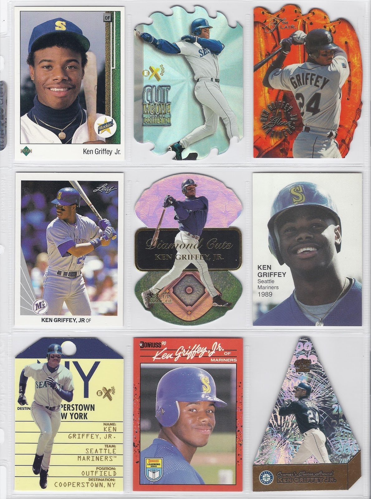 faceeefe03 The Junior Junkie: the Baseball Cards of Ken Griffey, Jr. and Beyond ...