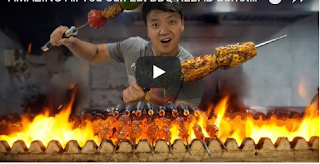 AMAZING All You Can Eat  BBQ KEBAB Buffet in India!