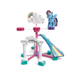 MLP Building Set Rainbow Dash Figure by K'NEX Tinkertoy