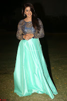 Nikki Galrani in Green Skirt  Top at Marakathamani music launch ~  Exclusive (149).JPG