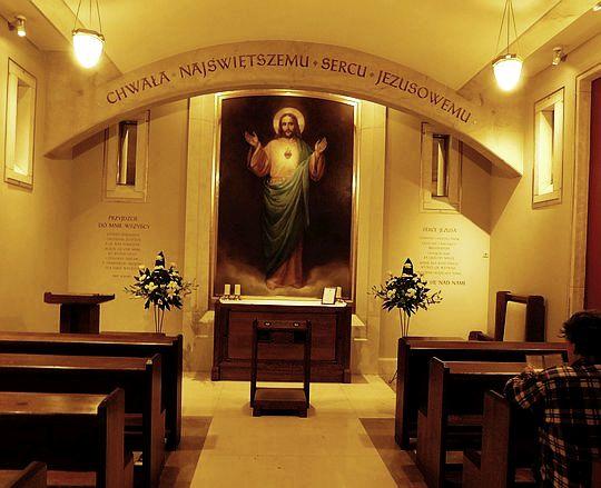 Kaplica Najświętszego Serca Pana Jezusa.