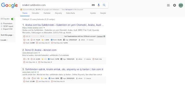 google-arama-sonuçları
