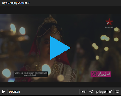 Siya Ke Ram 27th July 2016 Episode 230 Online
