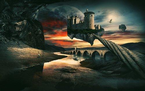 Surreal Landscape Using Photo Manipulation