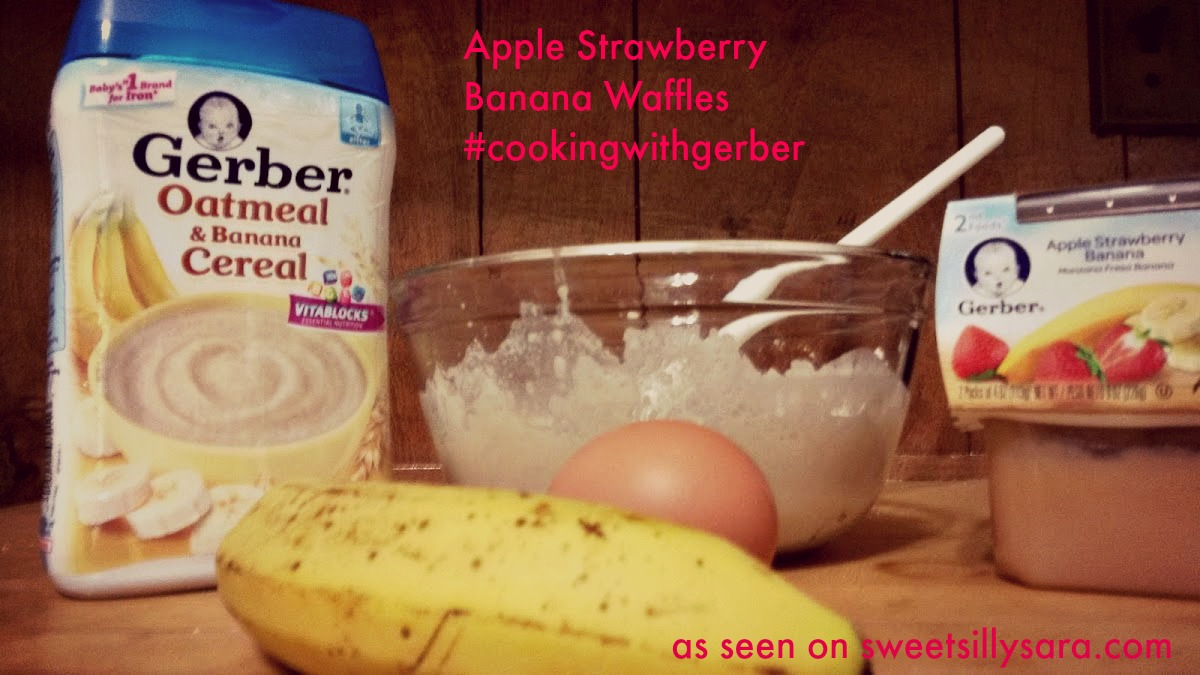 Sweet Silly Sara: Apple, Strawberry, Banana Baby Food