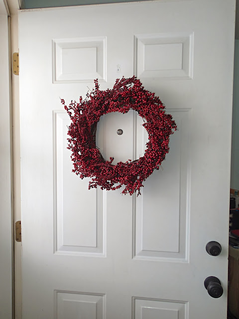 DIY Berry Wreath