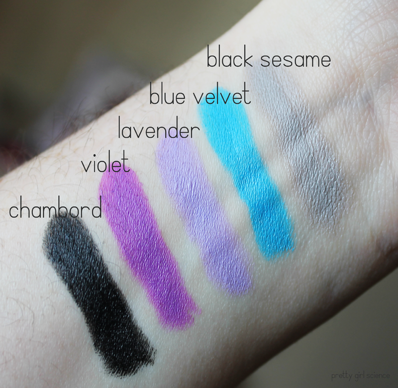 Nyx Macaron Lippies • Swatches & Review
