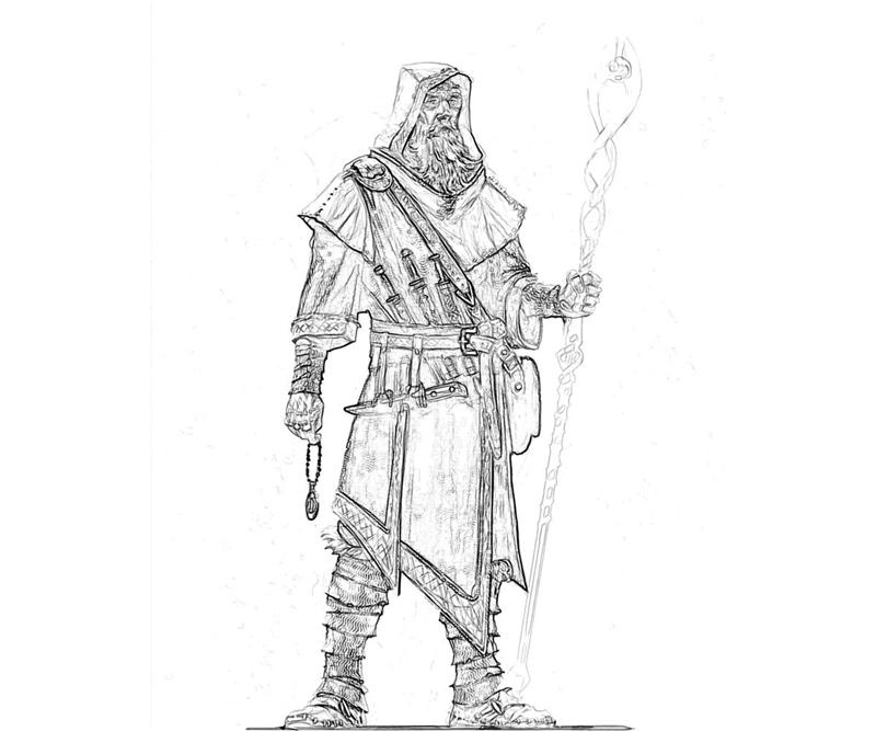 female dragonborn coloring pages - photo#44