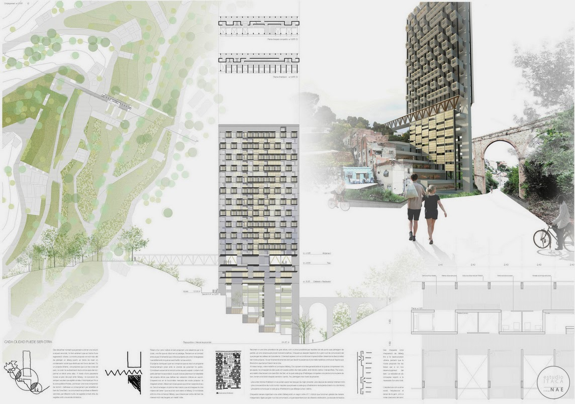 concurso barcelona youth hostel a r challenge aib On ets arquitectura madrid