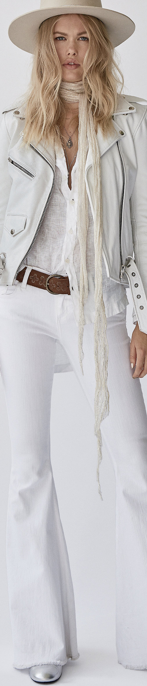 Free People Denim Super Flare