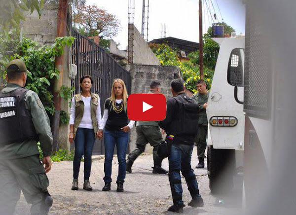 Guardias mantienen secuestrada a Lilian Tintori y su suegra en Ramo Verde