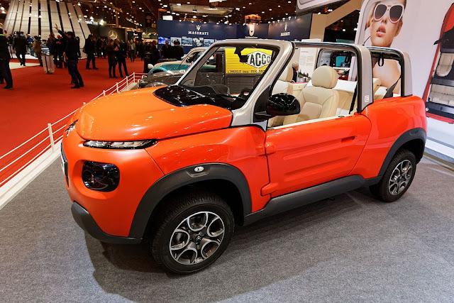シトロエンの電気自動車E−メアリ