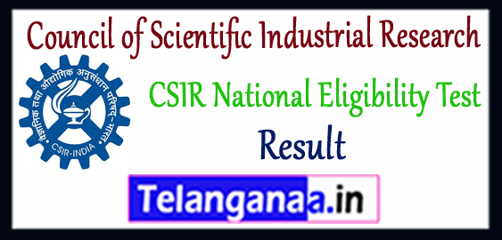 CSIR Council of Scientific Industrial Research UGC NET Result 2018