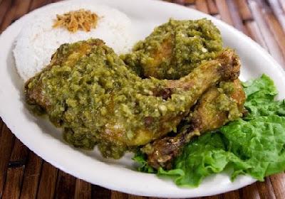 Resep Ayam Goreng Bumbu Cabe Ijo