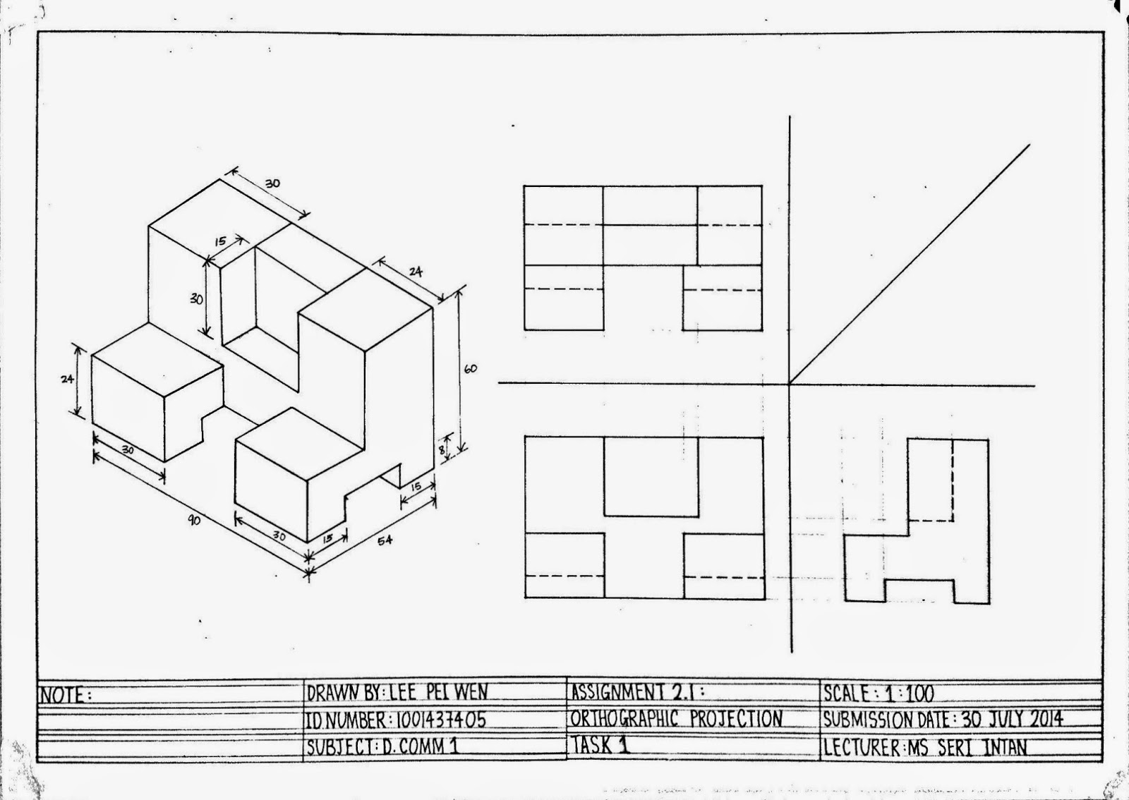 Pw S Design Bit By Bit Orthographic Projection