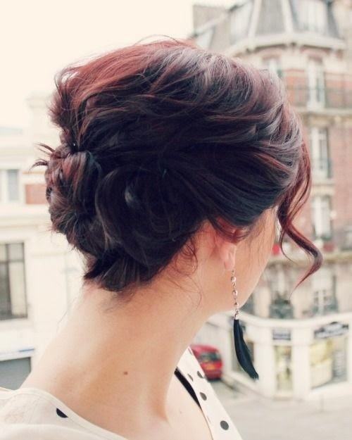 Cute Everyday Short Hairstyles: Hairstyles And Women Attire: 5 Cute Updo Hairstyles For
