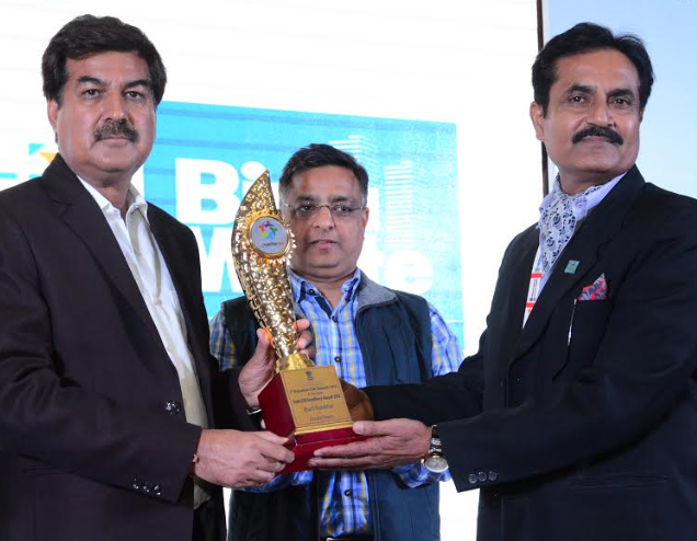 Bharti Foundation's Satya Bharti School Program recognized as the best CSR project by the Rajasthan Government Recognition received under the 'Education' category