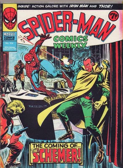 Spider-Man Comics Weekly #104, the Schemer