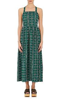 Ace & Jig Emerald Pinafore Dress