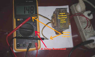 Stepdown Transformer Output Voltage
