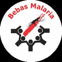 Bebas malaria logo gebrak malaria eliminasi malaria