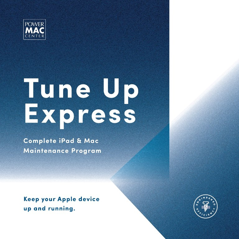 Power Mac Center Tune Up Express for iPad and Mac