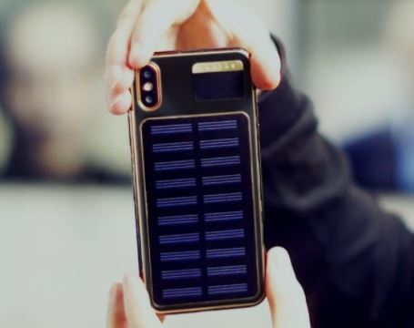 iphone x tesla the re modified iphone x with solar panel. Black Bedroom Furniture Sets. Home Design Ideas