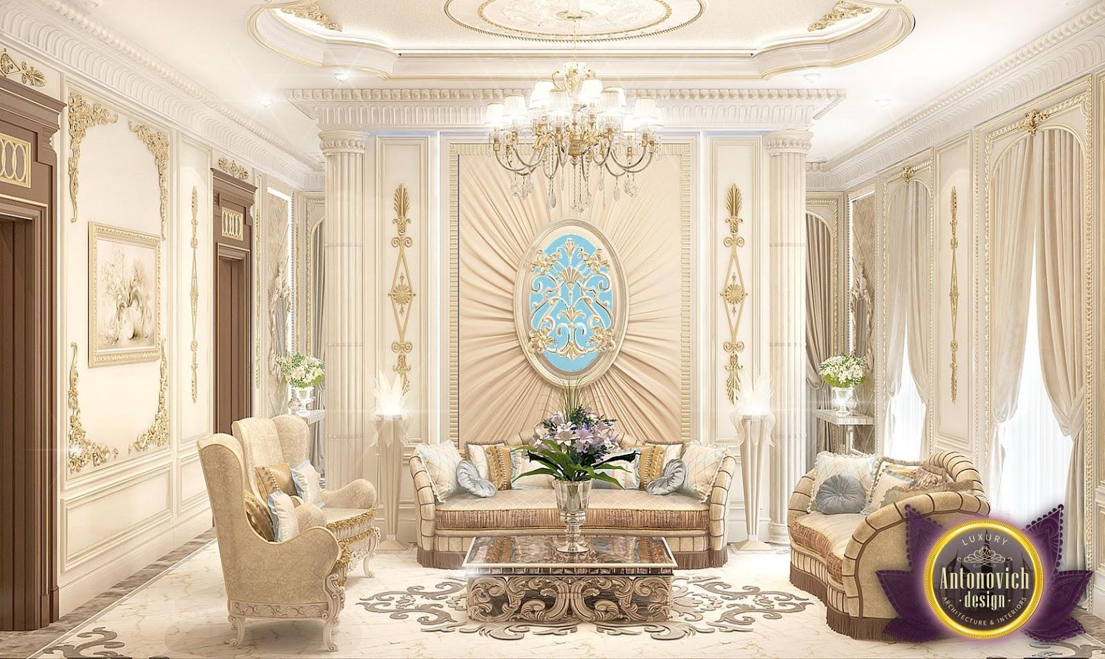 luxurious arabic style bedroom nigeiradesign: Luxury Royal Arabic Master Bedroom of