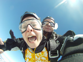 Fallschirmspringen Tandemsprung Fallschirmsprung Geschenk