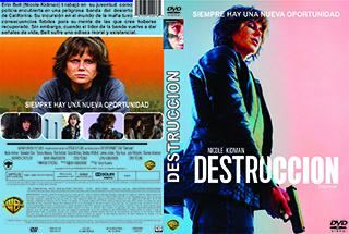 Destroyer - Destrucción - Cover - DVD - Bluray